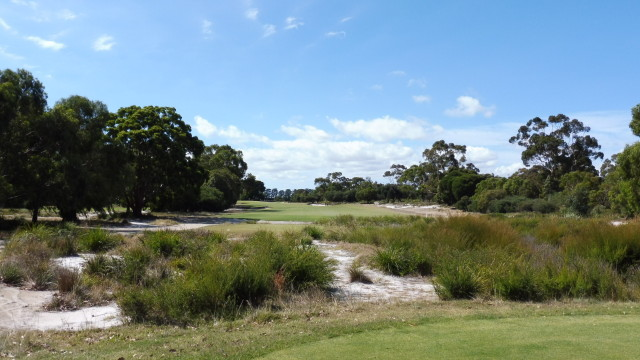 The 6th tee at Victoria Golf Club