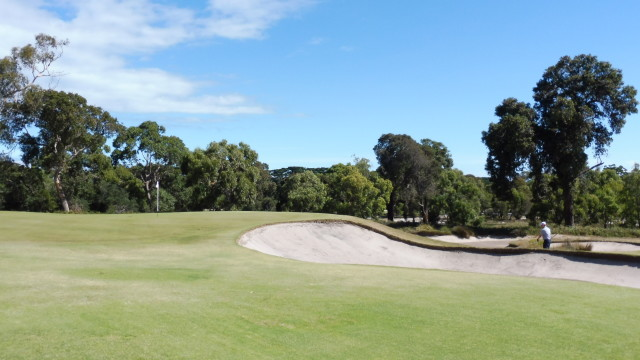 The 7th green at Victoria Golf Club