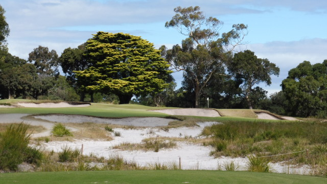The 7th tee at Victoria Golf Club