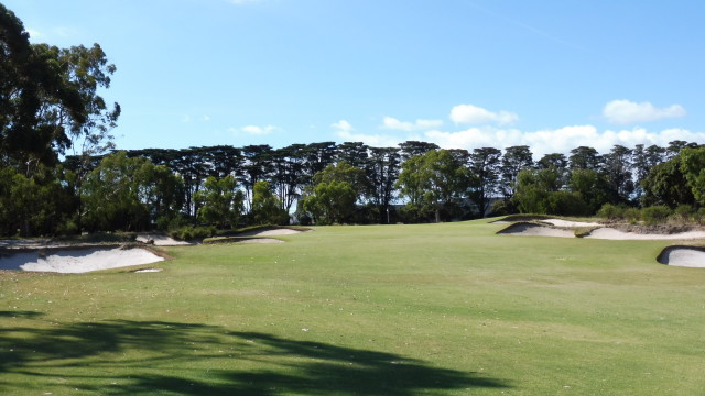 The 8th fairway at Victoria Golf Club