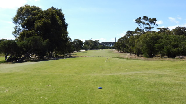 The 8th tee at Victoria Golf Club