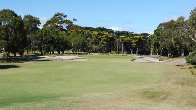 The 9th fairway at Victoria Golf Club