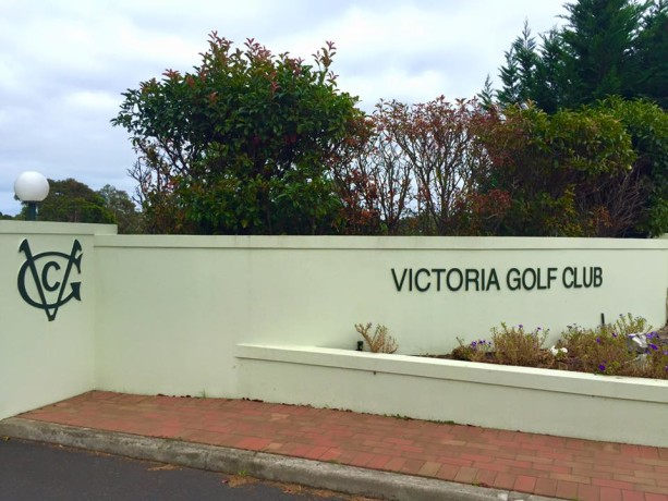 Entrance to Victoria Golf Club