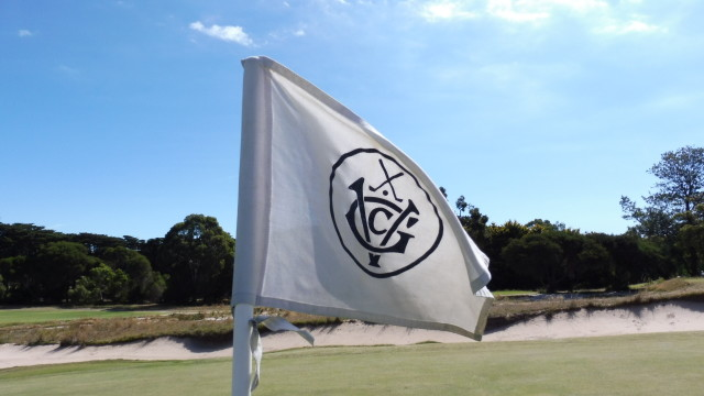 Pinflag at Victoria Golf Club
