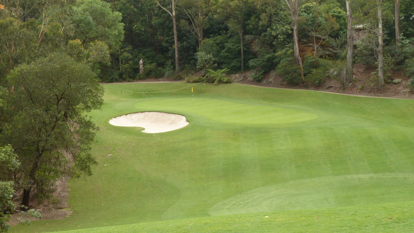 The 10th fairway at Avondale Golf Club