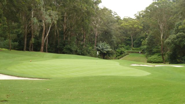 The 11th green at Avondale Golf Club