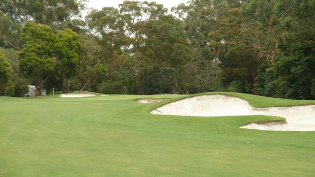 The 12th green at Avondale Golf Club