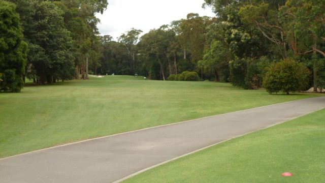 The 13th tee at Avondale Golf Club