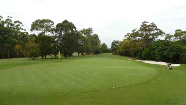 The 4th Green at Avondale Golf Club