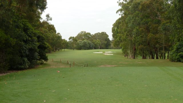 The 7th tee at Avondale Golf Club