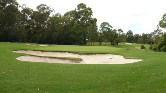 The 8th green at Avondale Golf Club