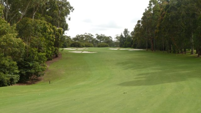 The 9th fairway at Avondale Golf Club
