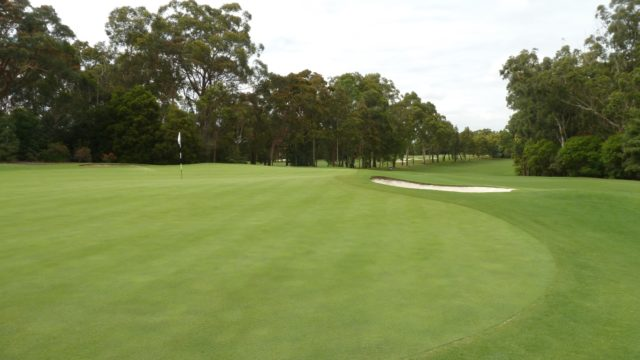 The 9th green at Avondale Golf Club