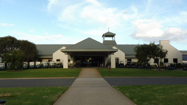 The Clubhouse at Thirteenth Beach Golf Links