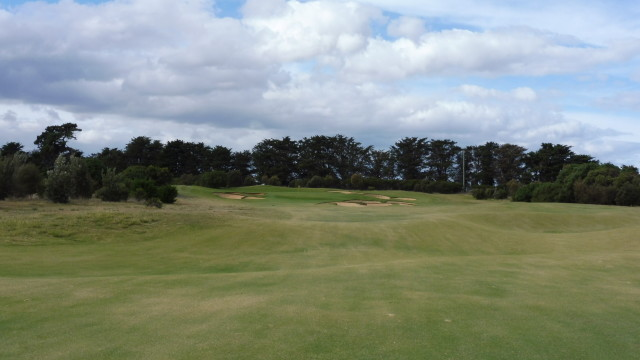 The 10th fairway at Thirteenth Beach Golf Links Creek Course