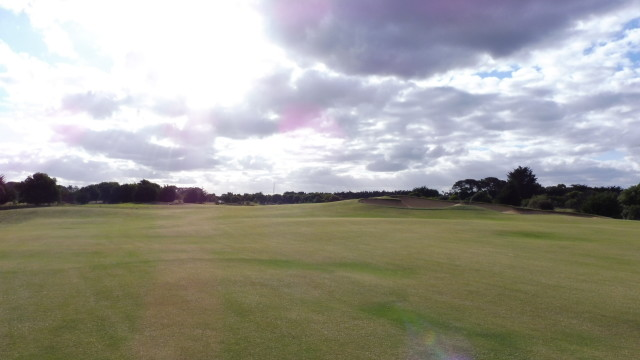 The 16th fairway at Thirteenth Beach Golf Links Creek Course