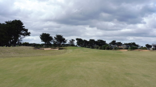 The 4th fairway at Thirteenth Beach Golf Links Creek Course