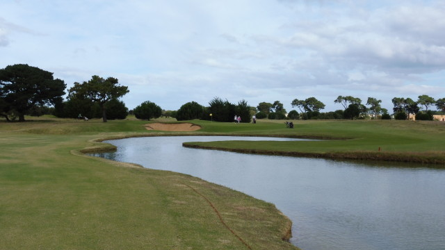 The 8th fairway at Thirteenth Beach Golf Links Creek Course