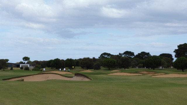 The 9th fairway at Thirteenth Beach Golf Links Creek Course