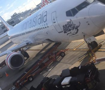 Catching the Virgin plane to Gold Coast
