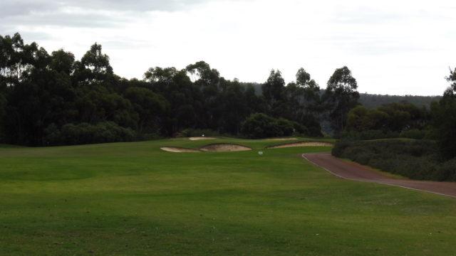 The 12th tee at Araluen Golf Resort