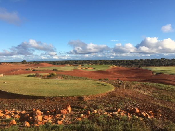 The 17th Tee at Kalgoorlie Golf Club