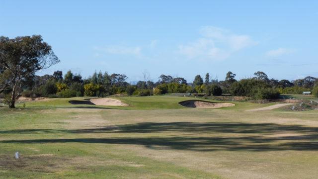 The 14th fairway at Horsham Golf Club
