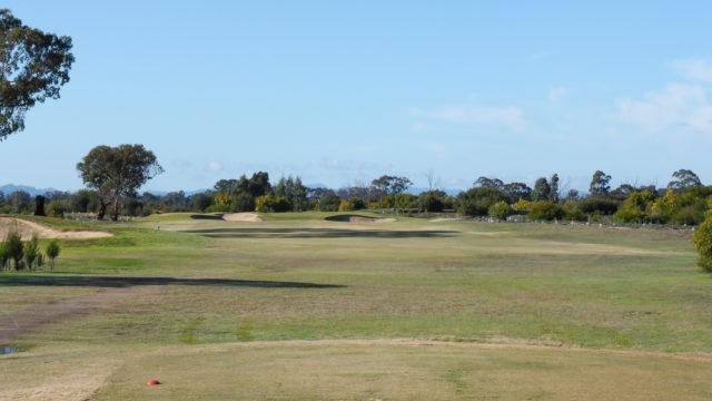 The 14th tee at Horsham Golf Club