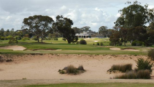 The 15th tee at Horsham Golf Club