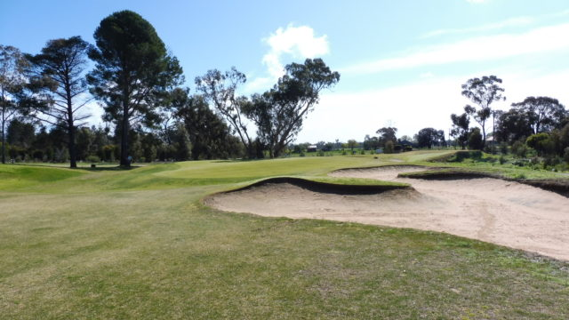 The 3rd green at Horsham Golf Club