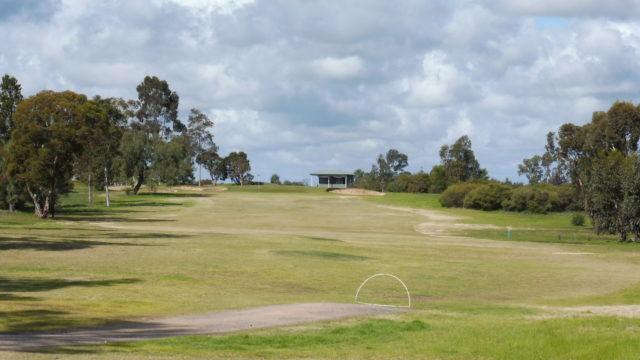 The 7th tee at Horsham Golf Club