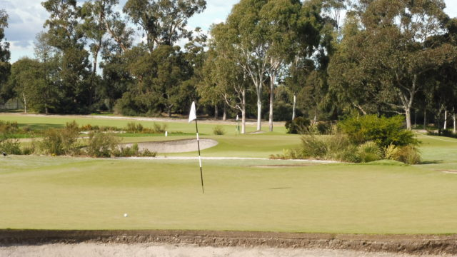 The 13th green at Metropolitan Golf Club
