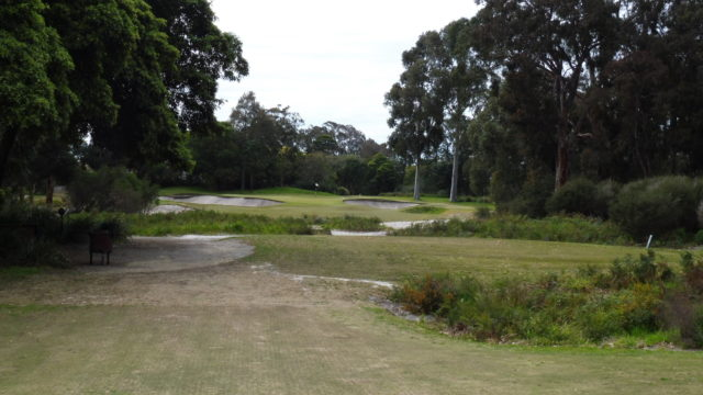 The 2nd tee at Metropolitan Golf Club