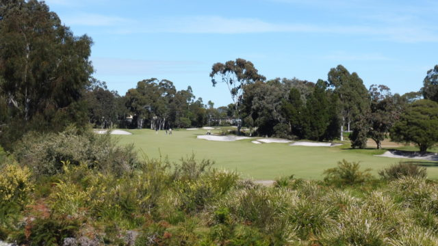 The 6th hole at Metropolitan Golf Club