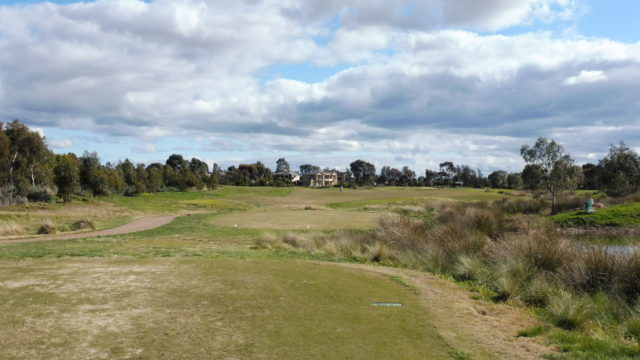 The 3rd tee at Sanctuary Lakes Golf Club