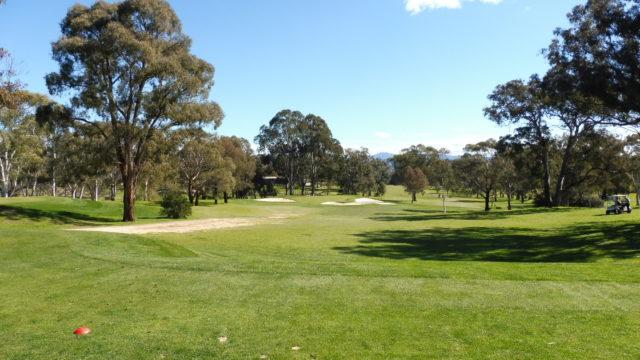 The 16th tee at Federal Golf Club