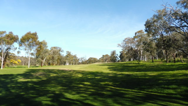 The 2nd tee at Federal Golf Club