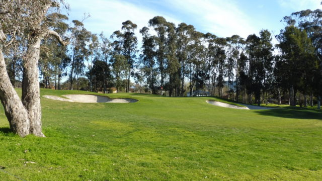 The 3rd green at Federal Golf Club