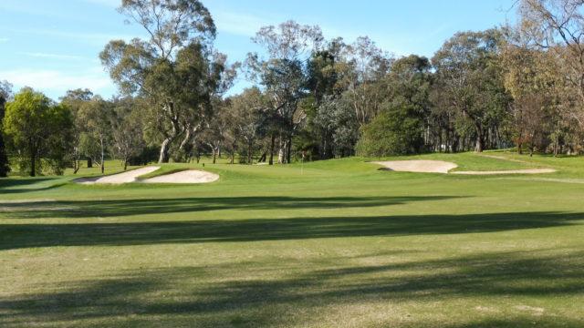 The 5th green at Federal Golf Club