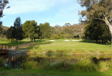 The 8th hole at Federal Golf Club