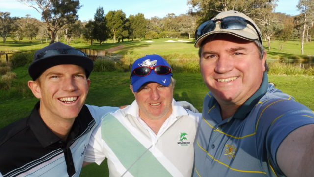 Playing group at Federal Golf Club