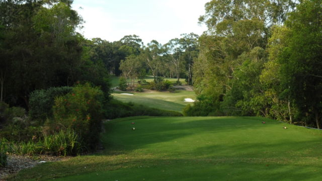 The 17th tee at Avondale Golf Club