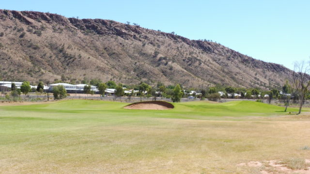 The 14th Green at Alice Springs Golf Club