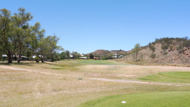 The 2nd tee at Alice Springs Golf Club