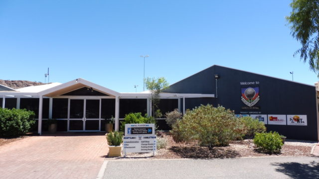 Clubhouse at Alice Springs Golf Club