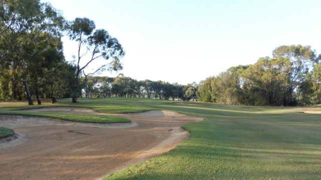 The 10th fairway at Murray Downs Golf Country Club