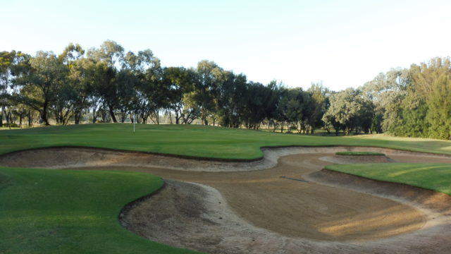 The 10th green at Murray Downs Golf Country Club