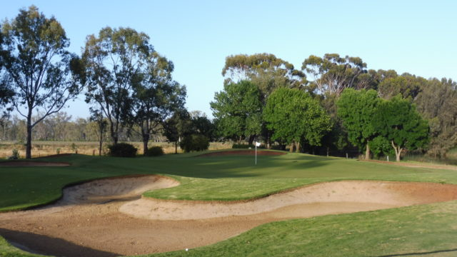 The 11th green at Murray Downs Golf Country Club