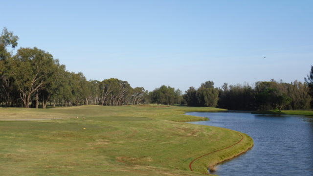 The 12th tee at Murray Downs Golf Country Club