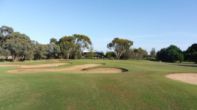The 13th fairway at Murray Downs Golf Country Club